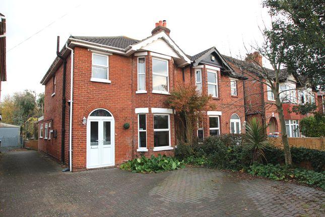 Thumbnail Semi-detached house to rent in Redlands Road, Fareham