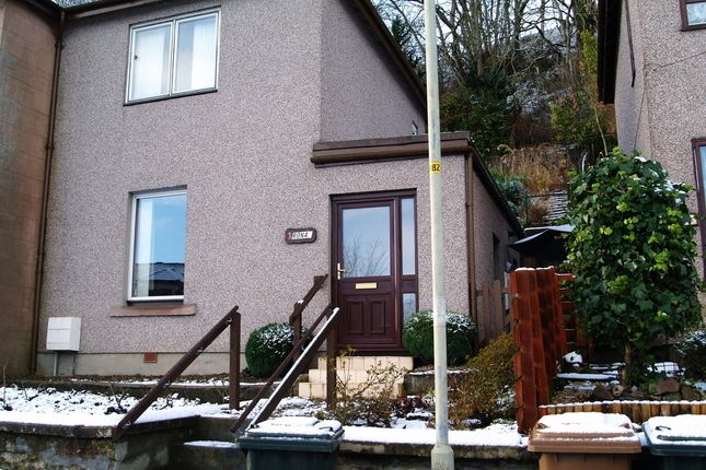 End terrace house for sale in Rona, Greenhill Street, Dingwall