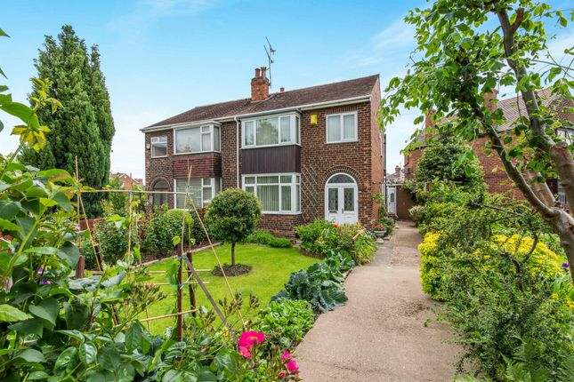 Thumbnail Semi-detached house for sale in Mill Lane, Warmsworth, Doncaster