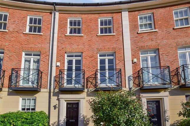 Thumbnail Terraced house for sale in Beacon Avenue, Kings Hill, West Malling, Kent