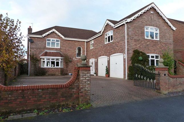 Thumbnail Detached house for sale in Ashwood Close, Burton-Upon-Stather, Scunthorpe