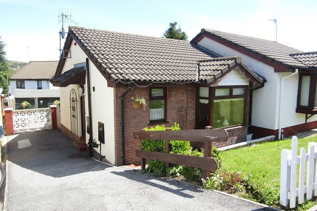 Thumbnail Semi-detached bungalow for sale in Llwyn Brwydrau, Llansamlet, Swansea, City And County Of Swansea.