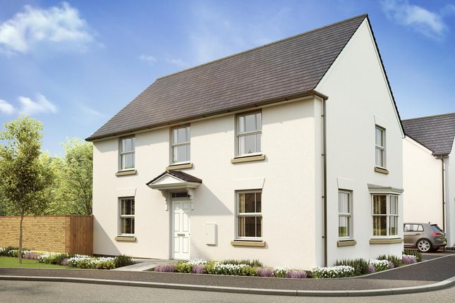 "Thumbnail Detached house for sale in ""Cornell"" at West Yelland, Barnstaple"