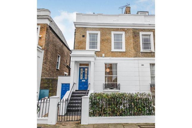 Thumbnail End terrace house for sale in Rochester Terrace, London