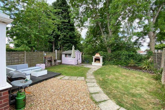 Garden At Back of Buckingham Road, Cheadle Hulme, Cheadle SK8
