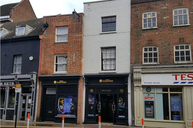 Thumbnail Commercial property for sale in 65-67 High Street, Bedford, Bedfordshire