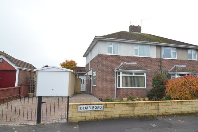Semi-detached house for sale in Blair Road, Trowbridge