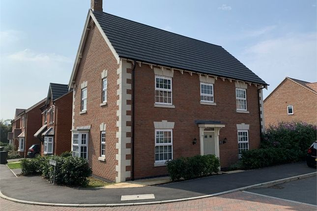 Thumbnail Detached house for sale in Gloster Road, Lutterworth, Leicestershire