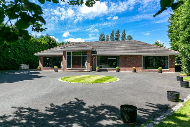 Thumbnail Detached bungalow for sale in Ashley Road, Mere, Knutsford, Cheshire
