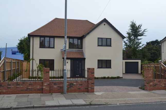 Thumbnail Detached house for sale in Rushmere Road, Ipswich