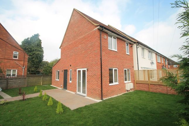 Thumbnail End terrace house for sale in Montague Road, Aylesbury
