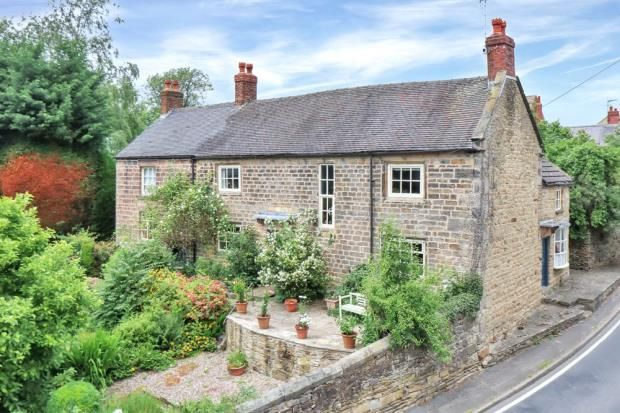 Thumbnail Detached house for sale in South Wingfield, Alfreton, Derbyshire