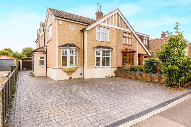 Thumbnail Semi-detached house for sale in Nursery Avenue, Bexleyheath