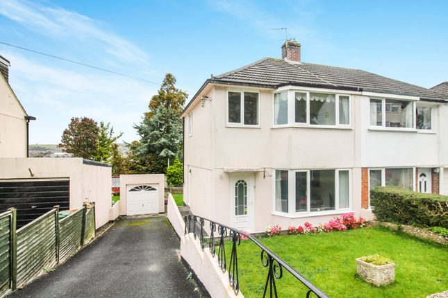 Thumbnail Semi-detached house for sale in Merafield Drive, Plympton, Plymouth