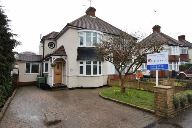 Thumbnail Semi-detached house for sale in Layhams Road, West Wickham