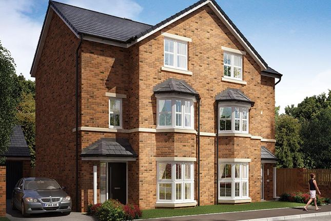 "Thumbnail Semi-detached house for sale in ""The Sutton"" at Elms Way, Yarm"