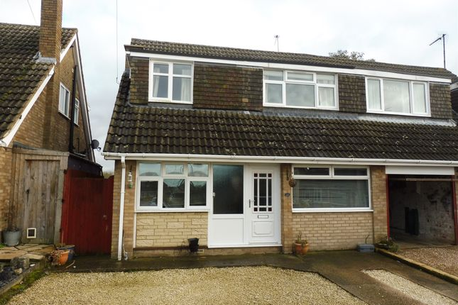 3 bed semi-detached house for sale in The Banks, Hackleton, Northampton