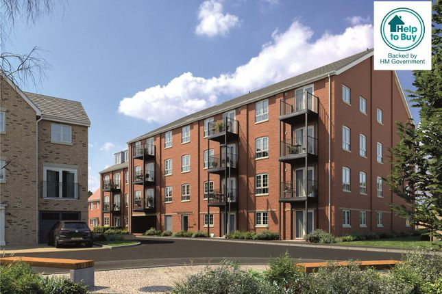 Thumbnail Flat for sale in Tayfields, Tayfen Road, Bury St. Edmunds, Suffolk