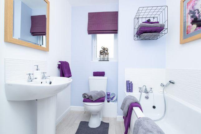 Bathroom of Plot 124, The Cork, Moorside Place, Valley Drive, Carlisle CA1