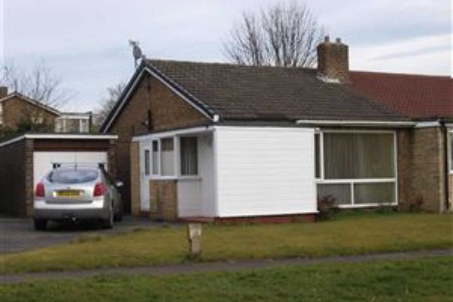Thumbnail Semi-detached bungalow to rent in Doddington Drive, Cramlington