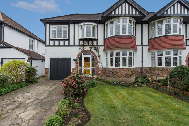 Thumbnail Semi-detached house for sale in The Newlands, Wallington