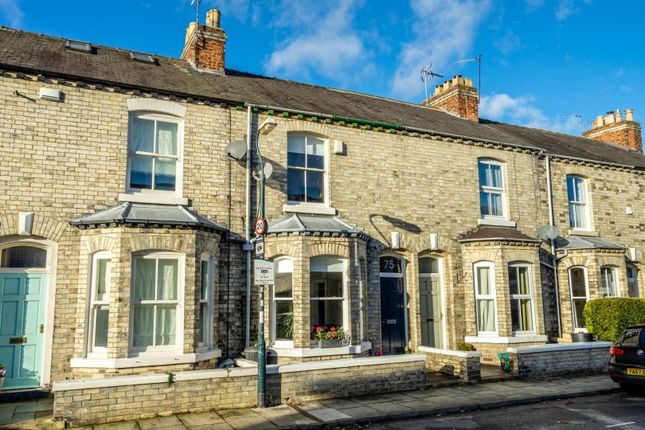 Thumbnail Terraced house for sale in Russell Street, York