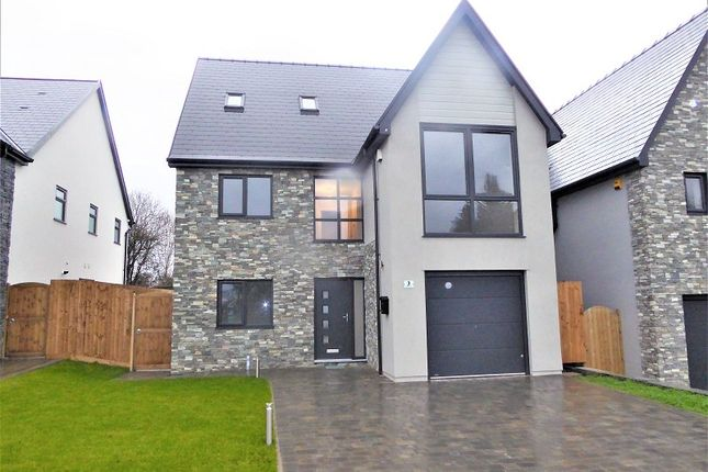 Thumbnail Detached house for sale in Laurel Court, Waterton, Bridgend, Bridgend County.