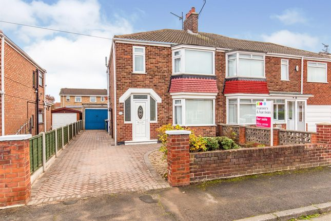 3 bed semi-detached house for sale in Caithness Road, Middlesbrough TS6