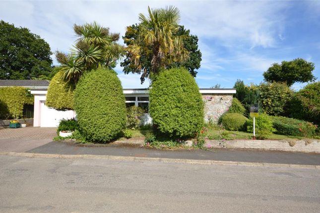 Thumbnail Detached bungalow for sale in Moors Park, Bishopsteignton, Teignmouth, Devon