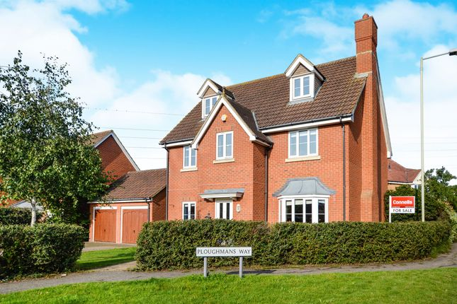 Thumbnail Detached house for sale in Ploughmans Way, Kingsnorth, Ashford
