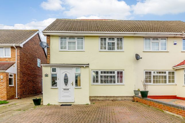 4 bed semi-detached house for sale in Everest Road, Staines, Surrey
