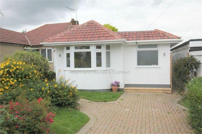 Thumbnail Semi-detached bungalow for sale in Stuart Road, East Barnet, Barnet, Hertfordshire