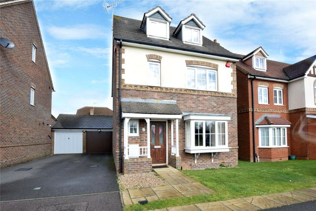 Thumbnail Detached house for sale in Halifax Close, Leavesden, Watford, Hertfordshire