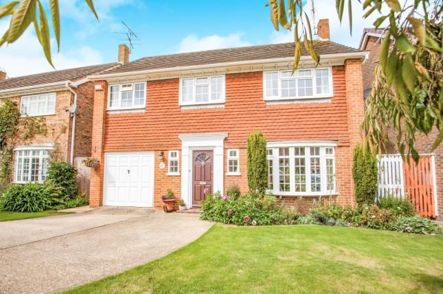 Thumbnail Detached house for sale in Winchester Gardens, Canterbury, Kent, Uk
