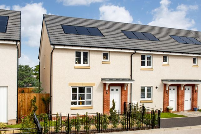 """3 bed end terrace house for sale in """"Coull"""" at Achnacarry Street, Edinburgh EH17"""