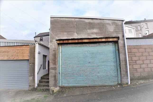 Garage of Charles Street, Porth CF39