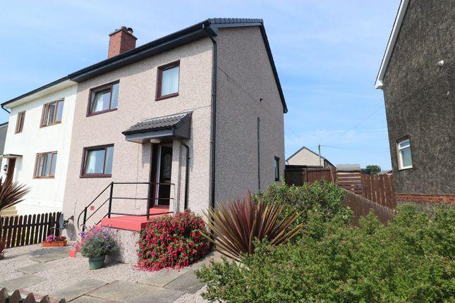 Semi-detached house for sale in Castle Terrace, Kennoway, Leven