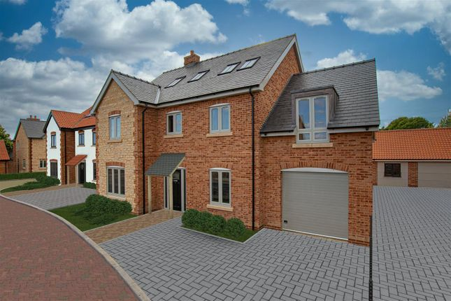 Thumbnail Detached house for sale in High Street, Scampton, Lincoln