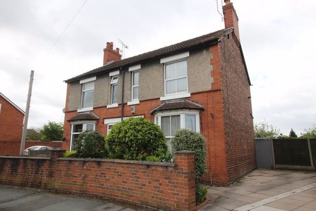 3 bed semi-detached house to rent in Nantwich Road, Crewe CW2