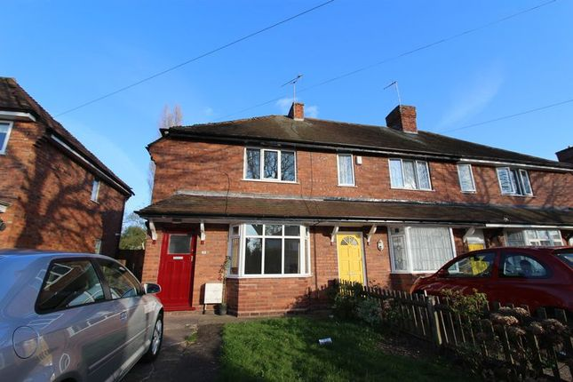 Thumbnail Semi-detached house to rent in Leighswood Avenue, Aldridge, Walsall