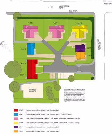 Abbotsford Terrace, Galashiels - Site Plan