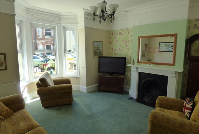 Thumbnail Town house to rent in Morton Road, Exmouth