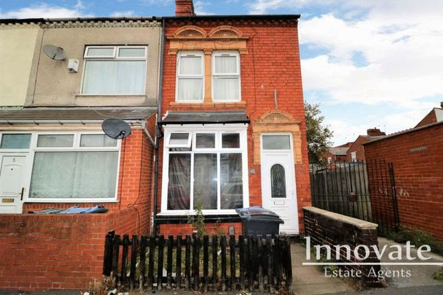 Thumbnail End terrace house for sale in Edward Road, Bearwood, Smethwick