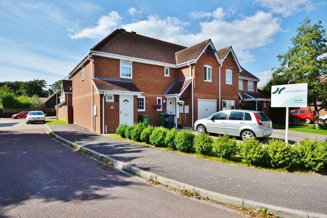 Thumbnail End terrace house for sale in Willow Lane, Milton, Abingdon