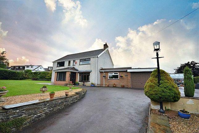 Detached house for sale in Crown Lane, Pontllanfraith, Blackwood