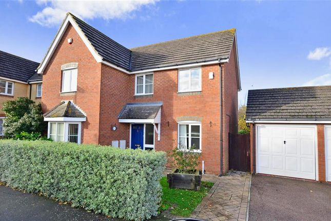 Thumbnail Detached house for sale in Willow Farm Way, Broomfield, Herne Bay, Kent