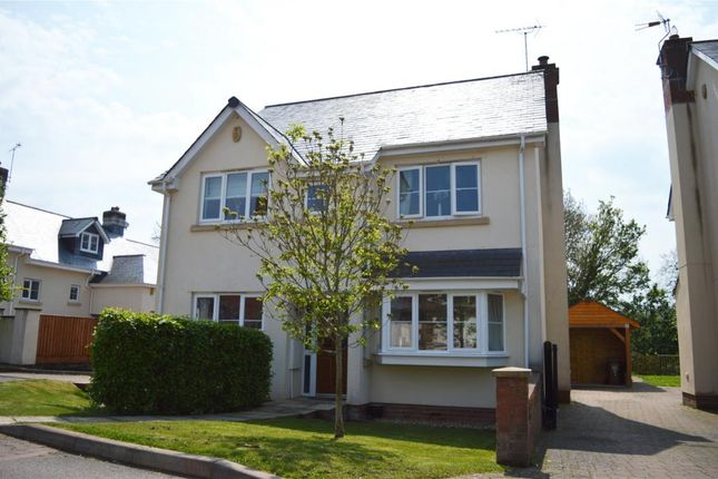 Thumbnail Detached house for sale in Chapel Close, Yeoford, Crediton, Devon