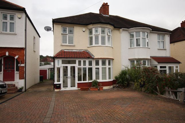 Thumbnail Semi-detached house for sale in Woodvale Avenue, London