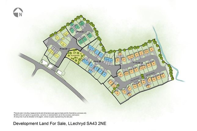 Thumbnail Land for sale in Lon Helyg, Cardigan