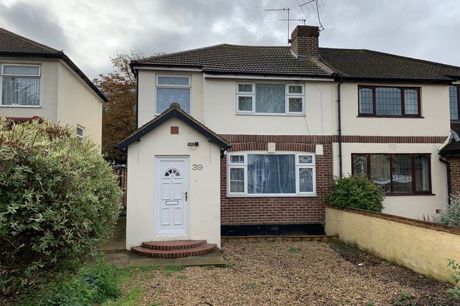 Thumbnail Semi-detached house to rent in Woodhaw, Egham